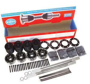 "axle kit for type 2 complete w/cv's, boots, grease & hardware 15 5/8"" Empi"