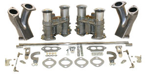 carb kit dual 48 for type 1 engines w/ race manifolds Empi 48 EPC