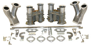 carb kit dual 48 for type 1 engines w/ std manifolds Empi 48 EPC round