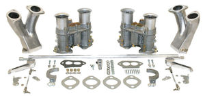 carb kit dual 48 for type 1 engines w/ std manifolds Empi 48 EPC hex