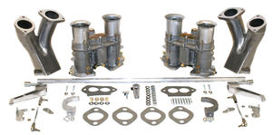 carb kit dual 48 for type 1 engines w/ race manifolds Empi EPC-48 hex