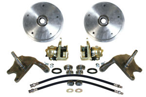 "disc brake kit 5 lug front  2 1/2"" Dropped spindle link pin kit Empi"