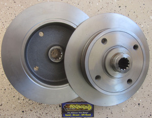 Disc brake rotor for rear - HS style Rewaco