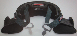 neck restraint system by NecksGen REV Crow
