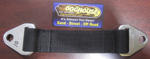 """limit strap 10"""" in black - Crow double"""