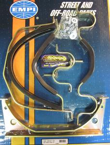 transmission mount set BUG padded strap kit for front & rear of trans holding Empi