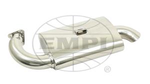 muffler street Phat Boy F/ 3100 T2 15-1600 Stainless steel Empi premium