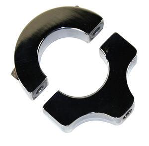"""bracket billet for 1 1/2"""" tube - single post for mirrors, lights etc Empi 3/8-16"""