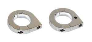 """bracket billet for 1 1/2"""" tube - pair for billet bullet lights Empi"""
