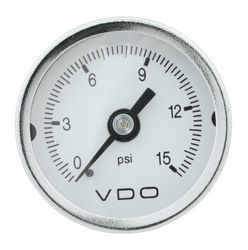 psi gauge for either fuel or oil 0-15 psi Mini VDO
