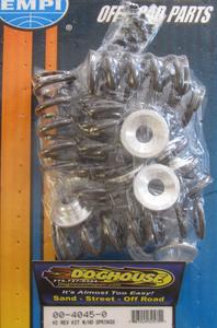valve spring & aluminum retainer set hi-performance single - Empi High-Rev