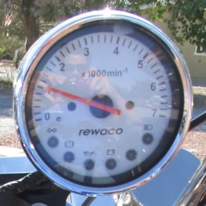 tachometer fits HS & RF style rewaco