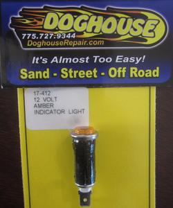 indicator warning light AMBER small standard 410 K-Four