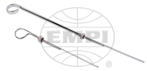 "oil dipstick chrome 10"" longer than stock bug style - Empi"