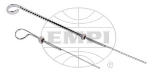 """oil dipstick chrome 10"""" longer than stock bug style - Empi"""