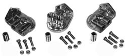 oil filter adapter kit ports face left cast Bugpack