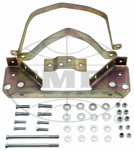 transmission mount set BUG solid steel 4 piece 1 front (2 bolt) 1 pc rear & 2 top straps - Empi
