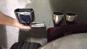 exhaust tip oval shape fits Rewaco RF1's