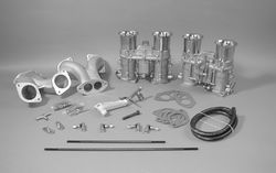 carb kit dual 48 IDA for type 1 engines w/ std manifolds Weber twist Bugpack