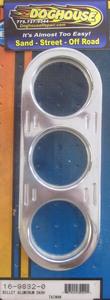 gauge panel Billet dash board 3 hole aluminum SSS