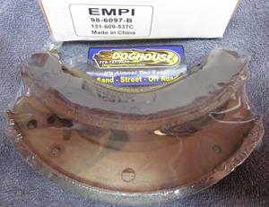 brake shoe set of 4 rear bug 65-67